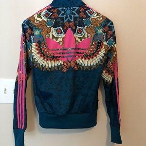 Adidas graphic jacket